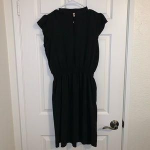 Juicy Couture black midi dress